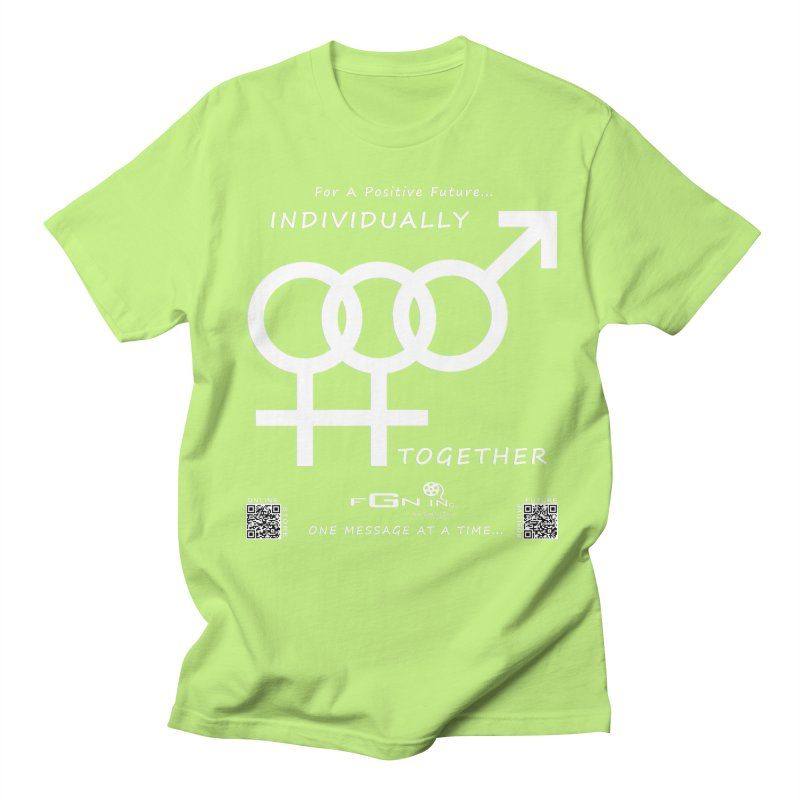 693A - Individually Together Women's Regular Unisex T-Shirt by FGN Inc. Online Shop