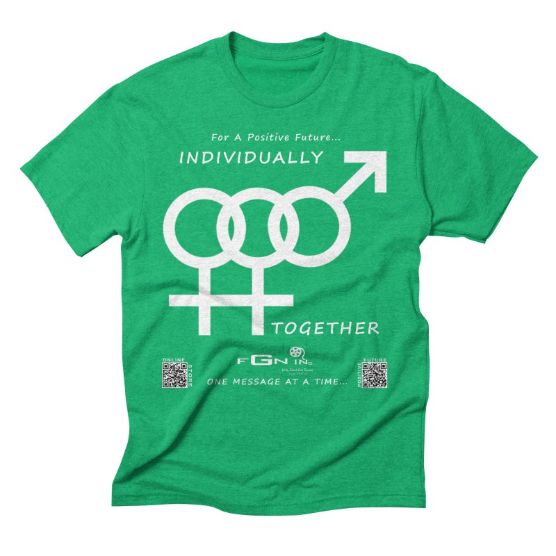 693A - Individually Together Men's Triblend T-Shirt by FGN Inc. Online Shop