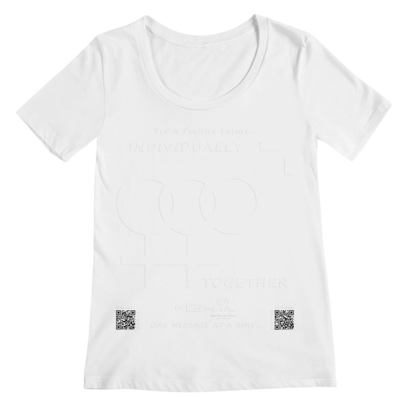 693A - Individually Together Women's Regular Scoop Neck by FGN Inc. Online Shop