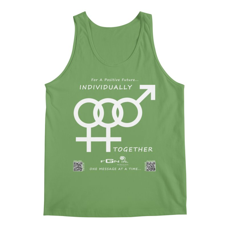 693A - Individually Together Men's Tank by FGN Inc. Online Shop