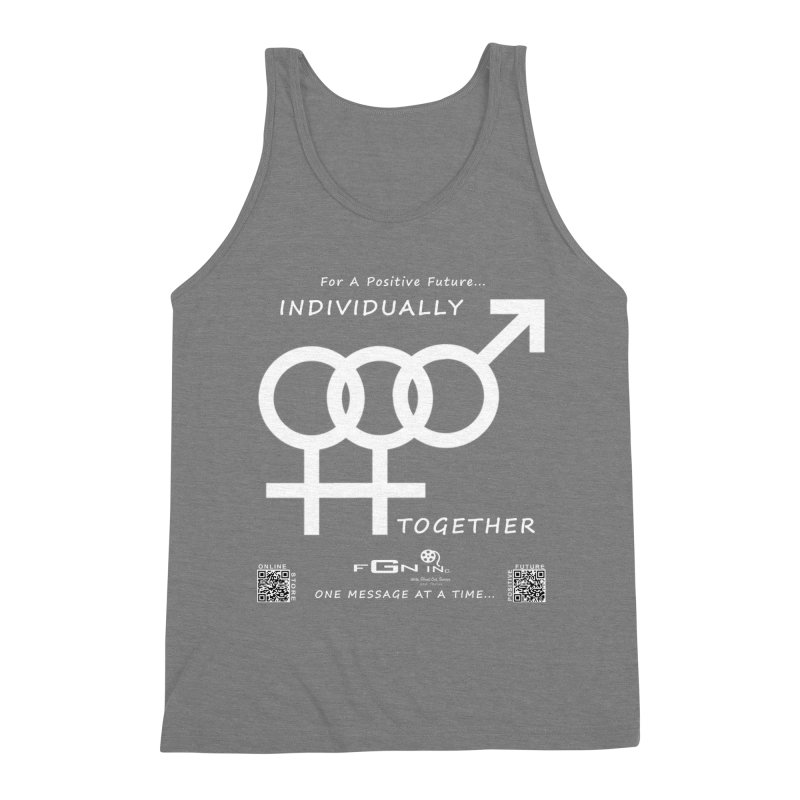 693A - Individually Together Men's Triblend Tank by FGN Inc. Online Shop