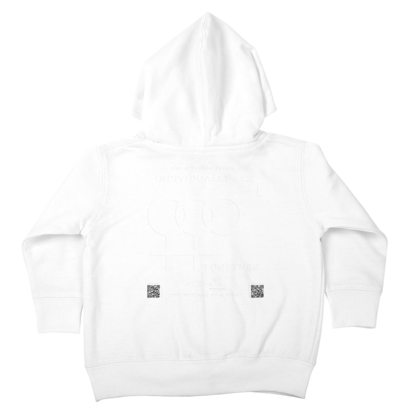 693A - Individually Together Kids Toddler Zip-Up Hoody by FGN Inc. Online Shop
