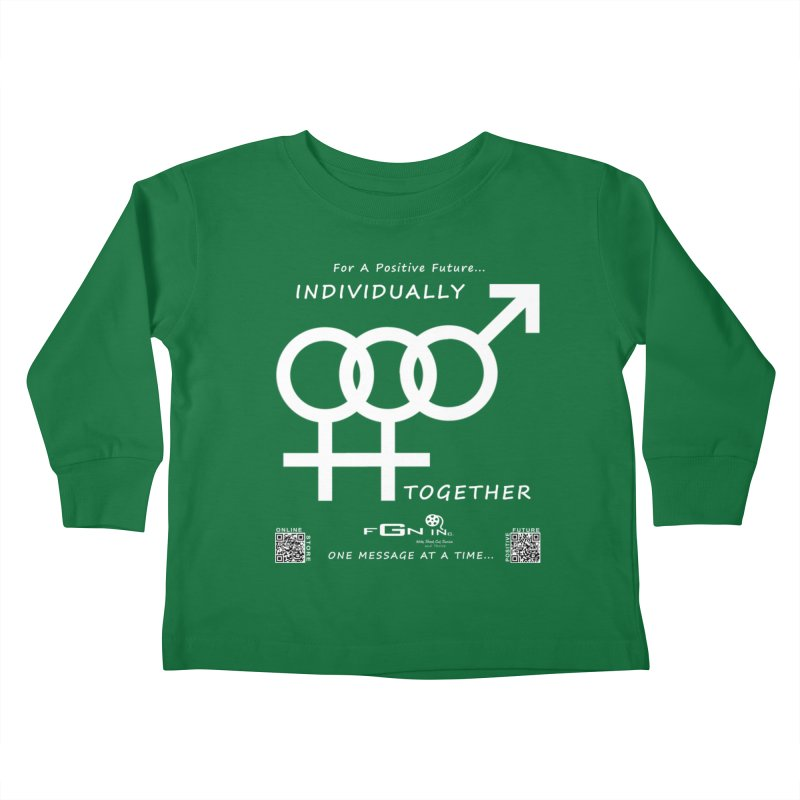 693A - Individually Together Kids Toddler Longsleeve T-Shirt by FGN Inc. Online Shop