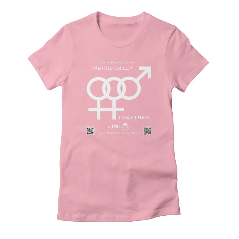 693A - Individually Together Women's T-Shirt by FGN Inc. Online Shop