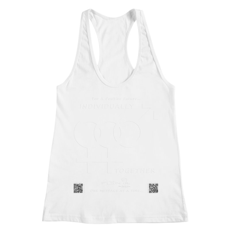 693A - Individually Together Women's Racerback Tank by FGN Inc. Online Shop