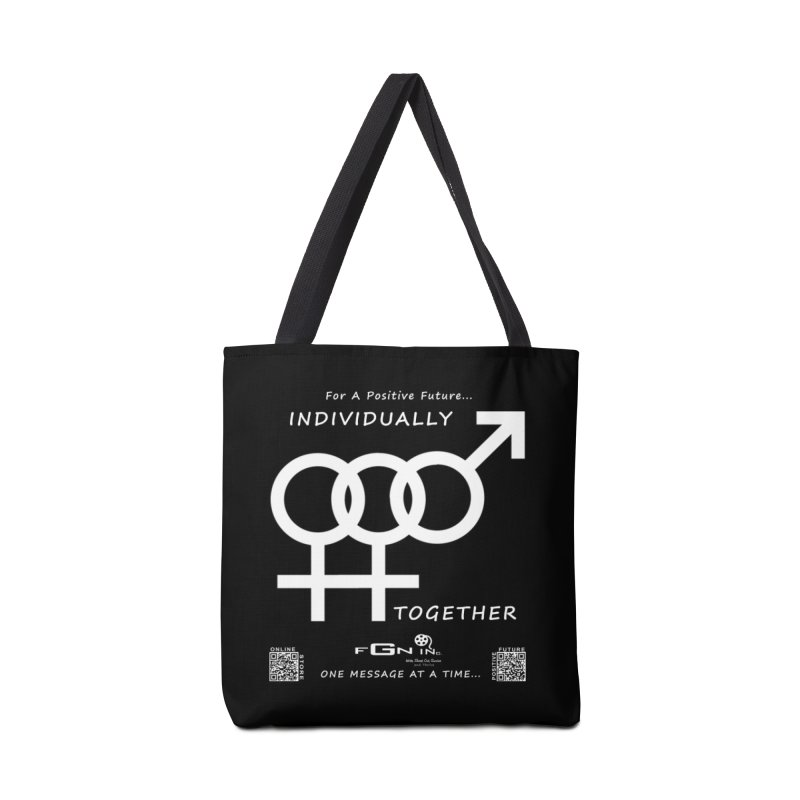 693A - Individually Together Accessories Tote Bag Bag by FGN Inc. Online Shop