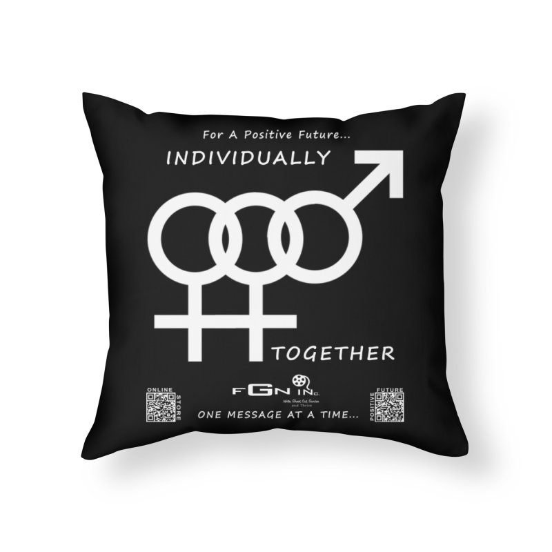 693A - Individually Together Home Throw Pillow by FGN Inc. Online Shop