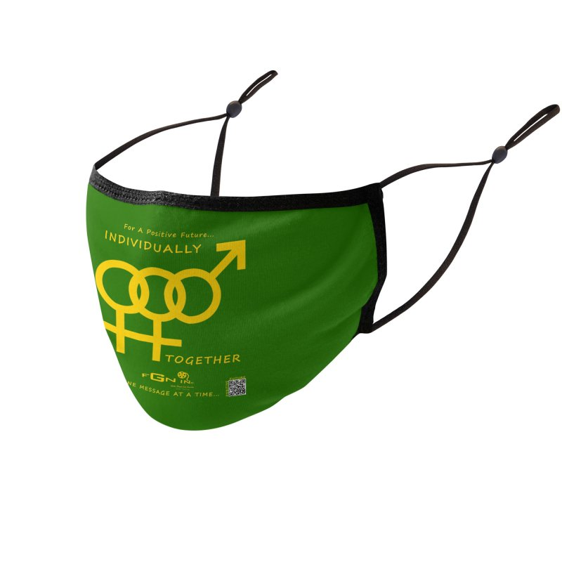 693B - Individually Together Accessories Face Mask by FGN Inc. Online Shop