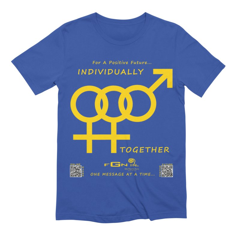 693B - Individually Together Men's T-Shirt by FGN Inc. Online Shop
