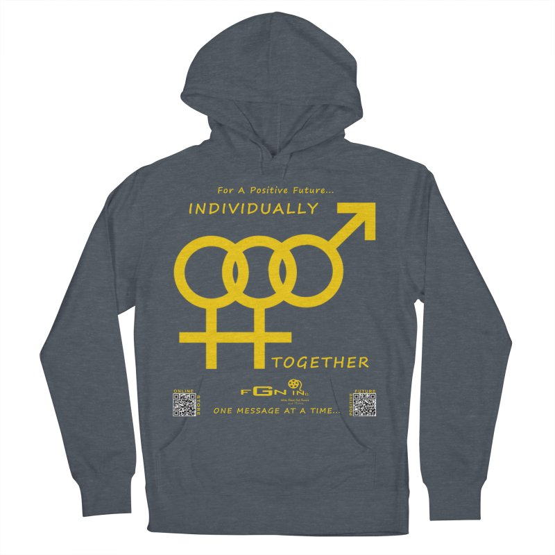 693B - Individually Together Men's French Terry Pullover Hoody by FGN Inc. Online Shop