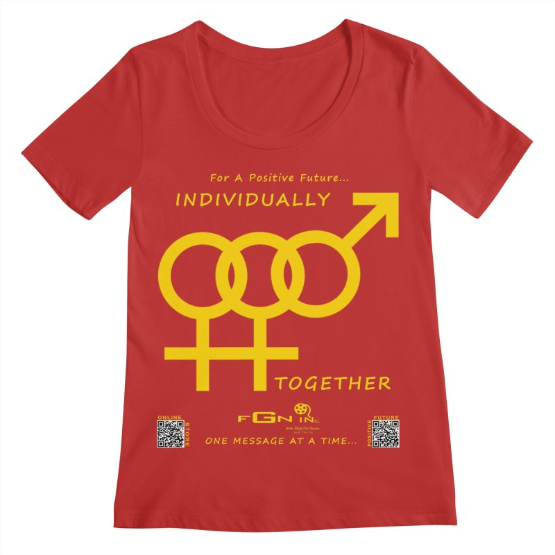 693B - Individually Together Women's Regular Scoop Neck by FGN Inc. Online Shop