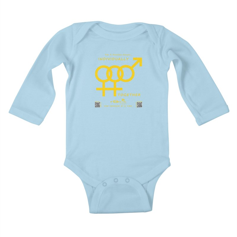 693B - Individually Together Kids Baby Longsleeve Bodysuit by FGN Inc. Online Shop