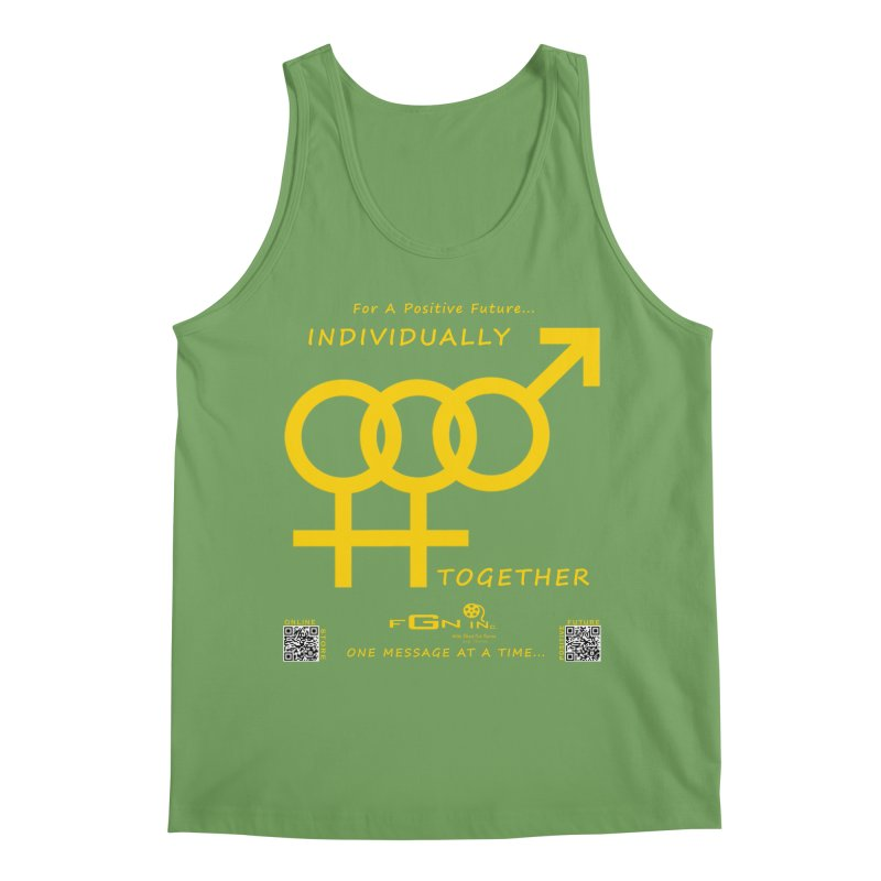693B - Individually Together Men's Tank by FGN Inc. Online Shop