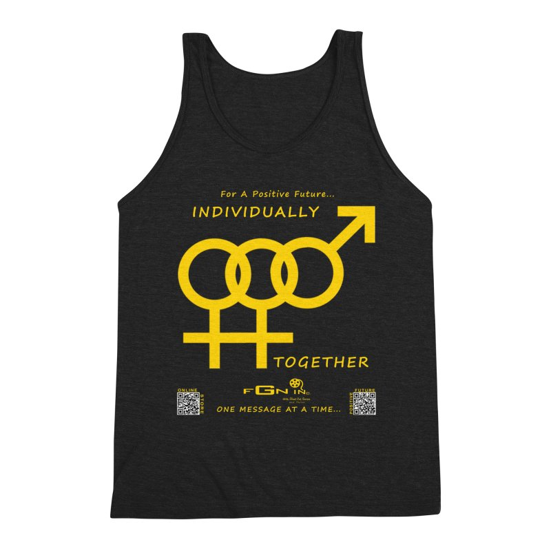 693B - Individually Together Men's Triblend Tank by FGN Inc. Online Shop