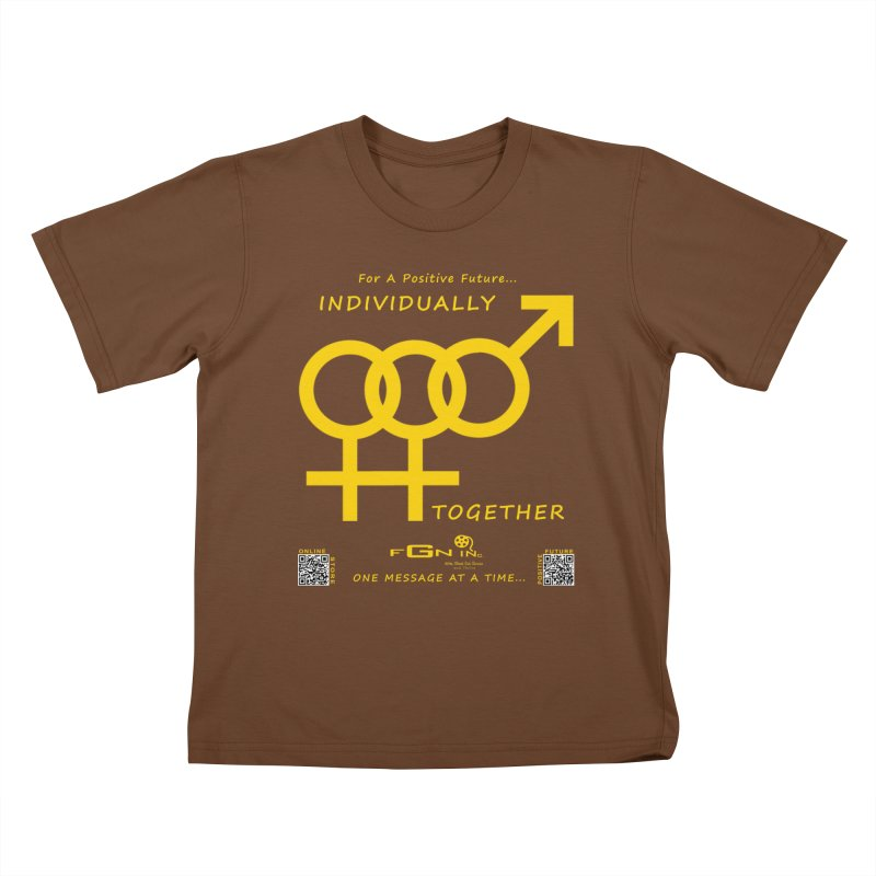 693B - Individually Together Kids T-Shirt by FGN Inc. Online Shop