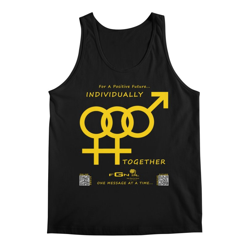693B - Individually Together Men's Regular Tank by FGN Inc. Online Shop