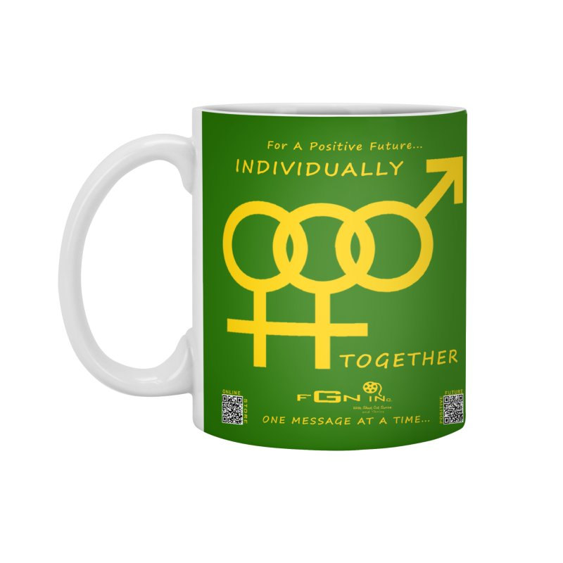 693B - Individually Together Accessories Standard Mug by FGN Inc. Online Shop