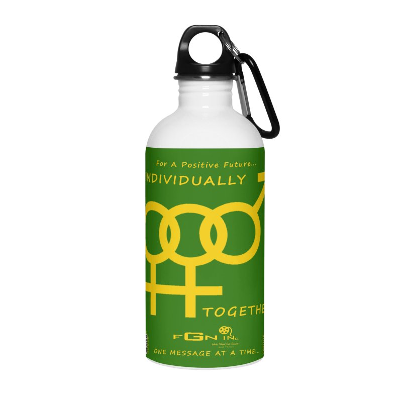 693B - Individually Together Accessories Water Bottle by FGN Inc. Online Shop