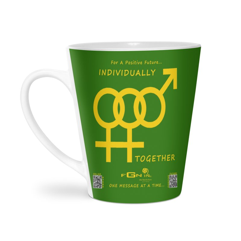693B - Individually Together Accessories Latte Mug by FGN Inc. Online Shop