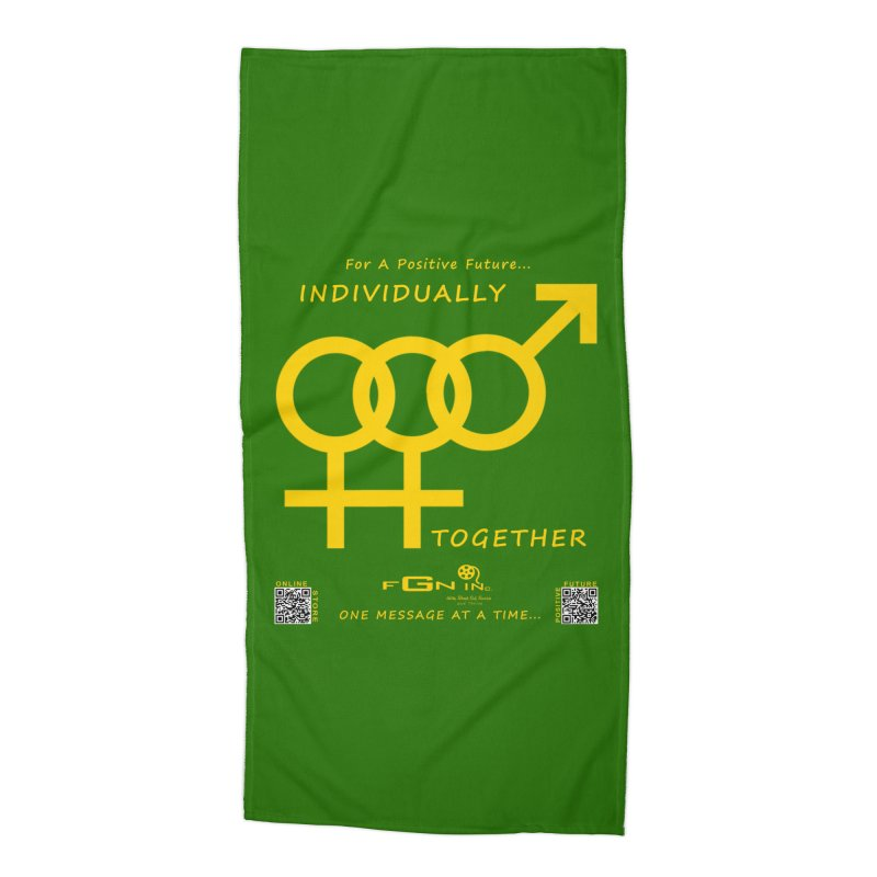 693B - Individually Together Accessories Beach Towel by FGN Inc. Online Shop