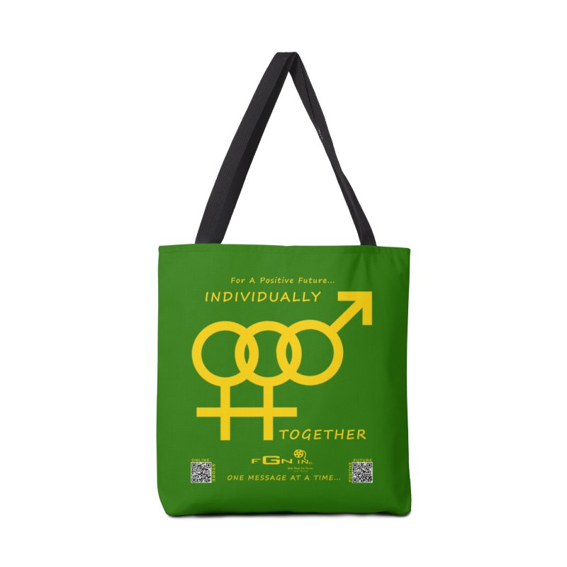 693B - Individually Together Accessories Tote Bag Bag by FGN Inc. Online Shop