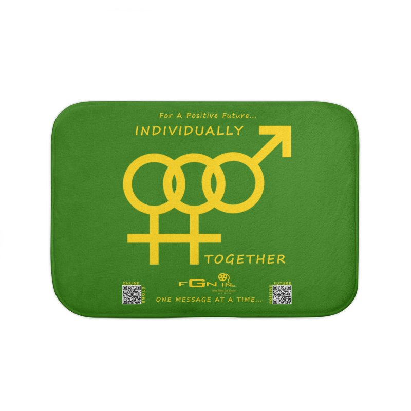 693B - Individually Together Home Bath Mat by FGN Inc. Online Shop