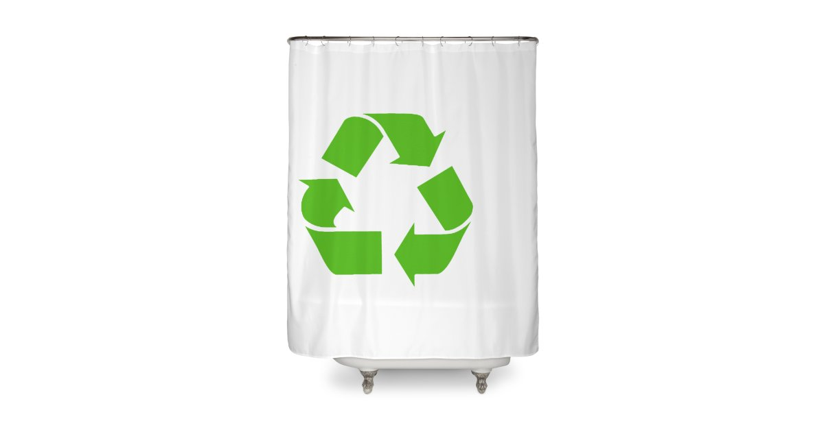 FLC Recycle Sign Home Shower Curtain
