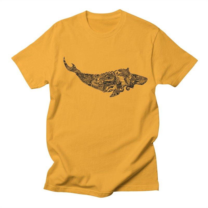 Whale drawing by Floris V Men's Regular T-Shirt by FLORISV's Artist Shop