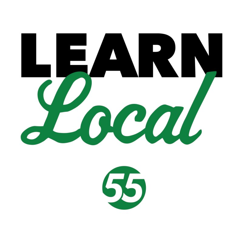 Learn Local 55 Men's V-Neck by FOH55