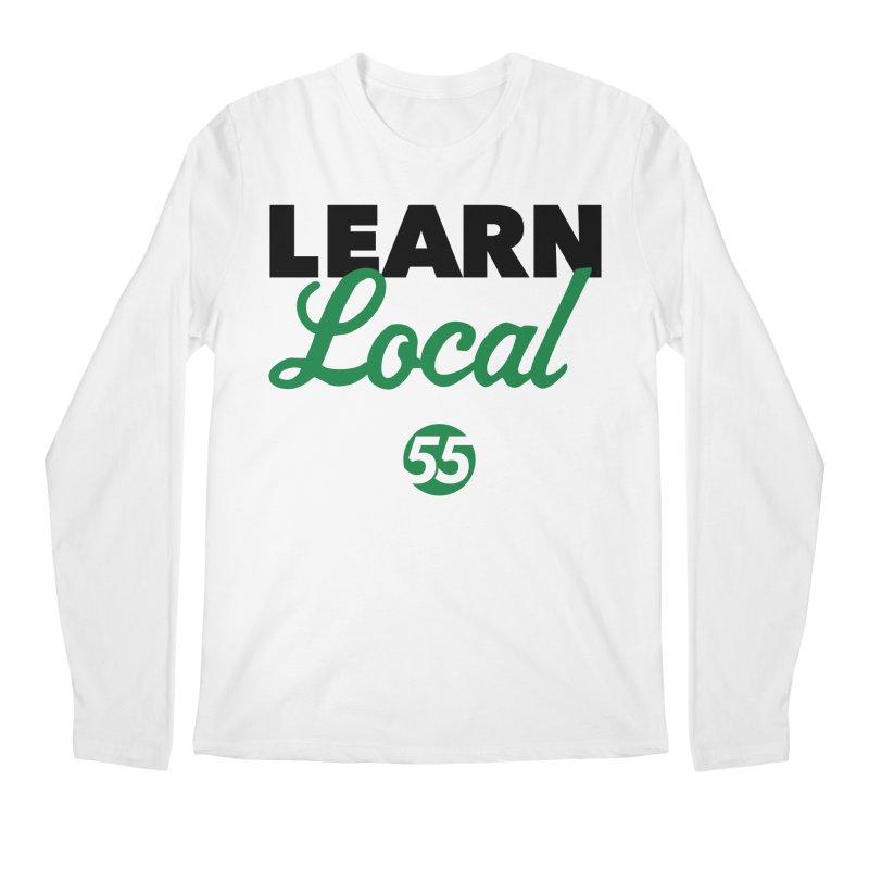 Learn Local 55 Men's Regular Longsleeve T-Shirt by FOH55