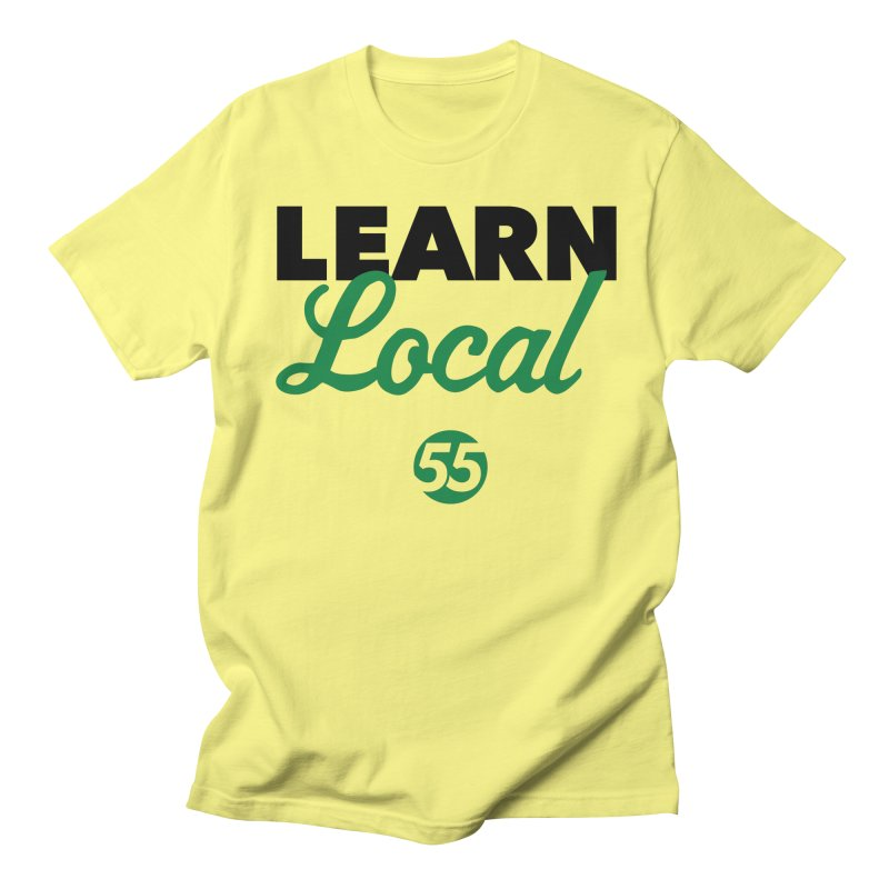Learn Local 55 Men's Regular T-Shirt by FOH55