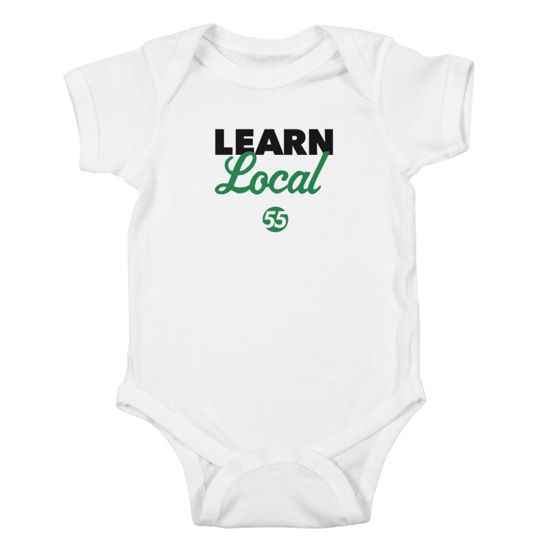 Learn Local 55 Kids Baby Bodysuit by FOH55