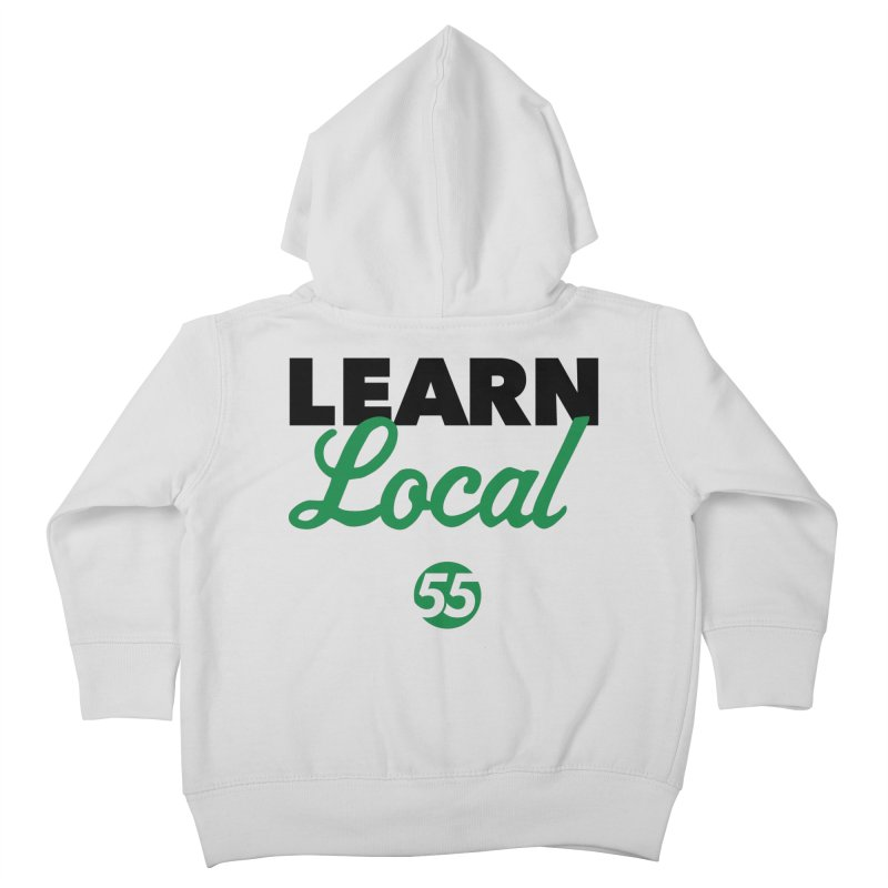 Learn Local 55 Kids Toddler Zip-Up Hoody by FOH55