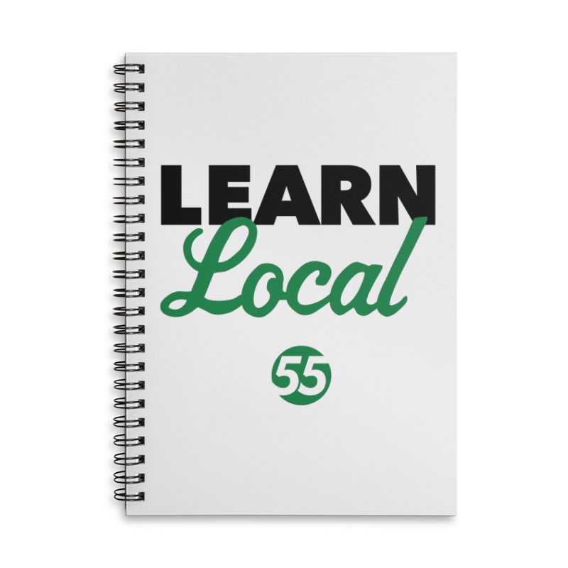 Learn Local 55 Accessories Notebook by FOH55
