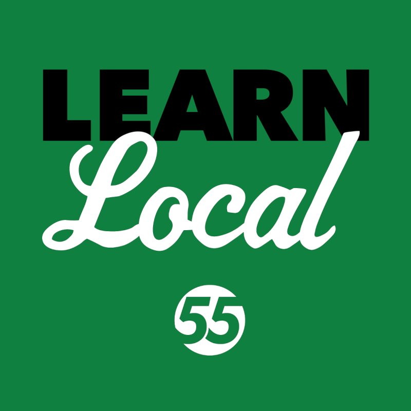Learn Local 55 - Green bag by FOH55