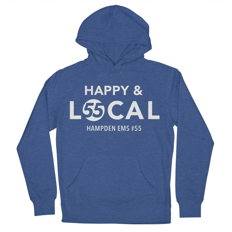 Happy & Local Men's French Terry Pullover Hoody by FOH55