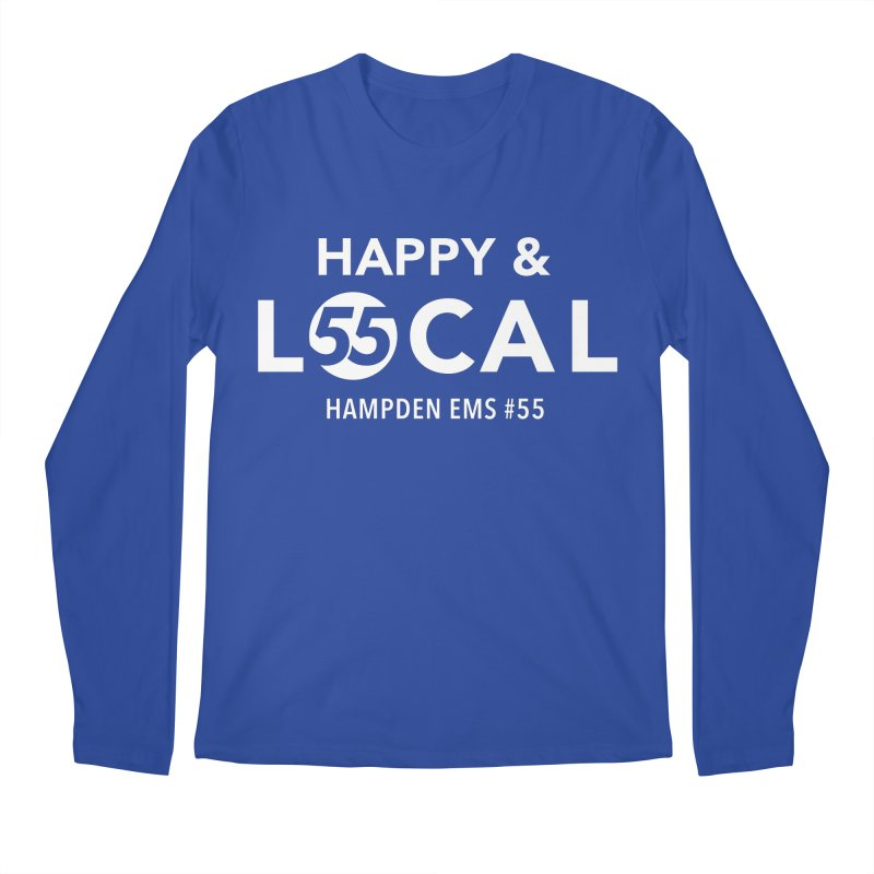 Happy & Local Men's Regular Longsleeve T-Shirt by FOH55