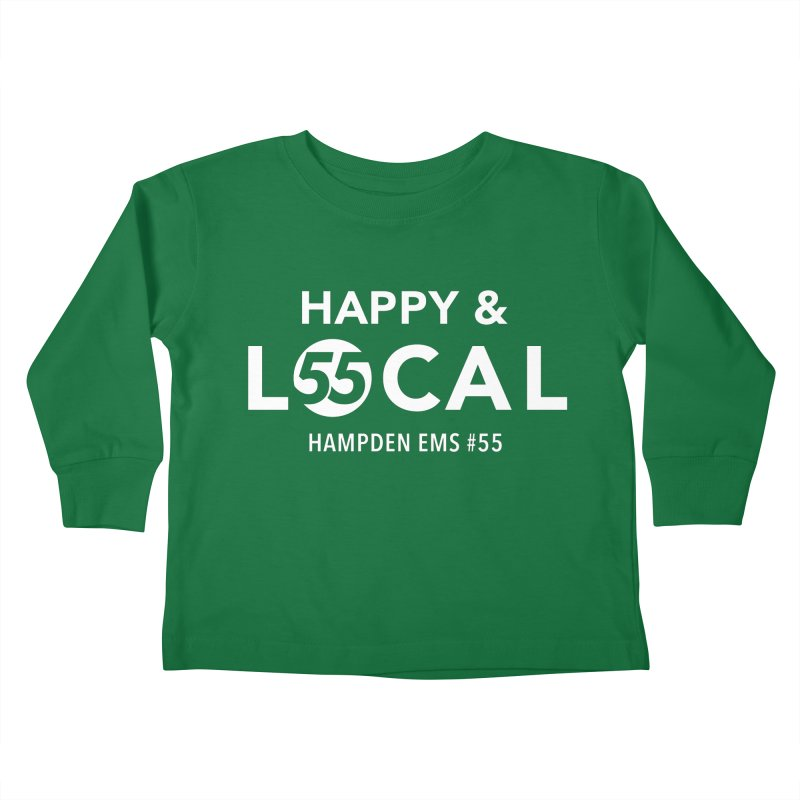 Happy & Local Kids Toddler Longsleeve T-Shirt by FOH55