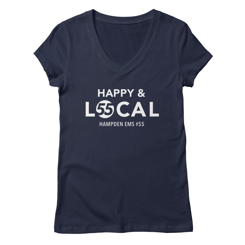 Happy & Local Women's Regular V-Neck by FOH55
