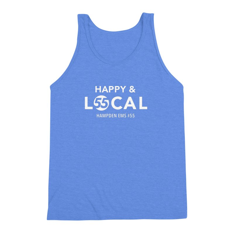 Happy & Local Men's Triblend Tank by FOH55