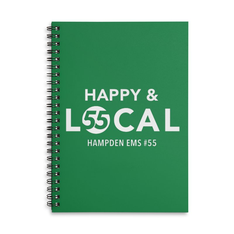 Happy & Local Accessories Lined Spiral Notebook by FOH55