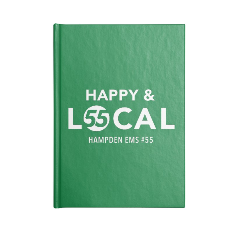 Happy & Local Accessories Blank Journal Notebook by FOH55