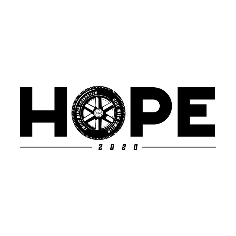 Ride with Emilio - HOPE Men's T-Shirt by FORE A Great Cause Shop
