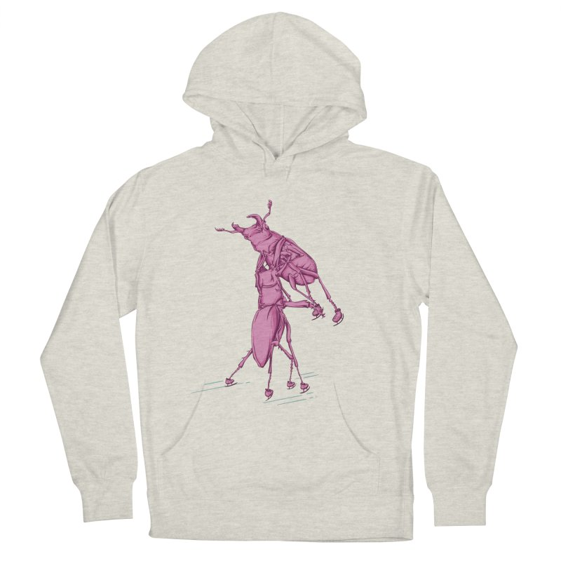 Stag Beetle Ice Skating Women's Pullover Hoody by FOURHWAY's Shop