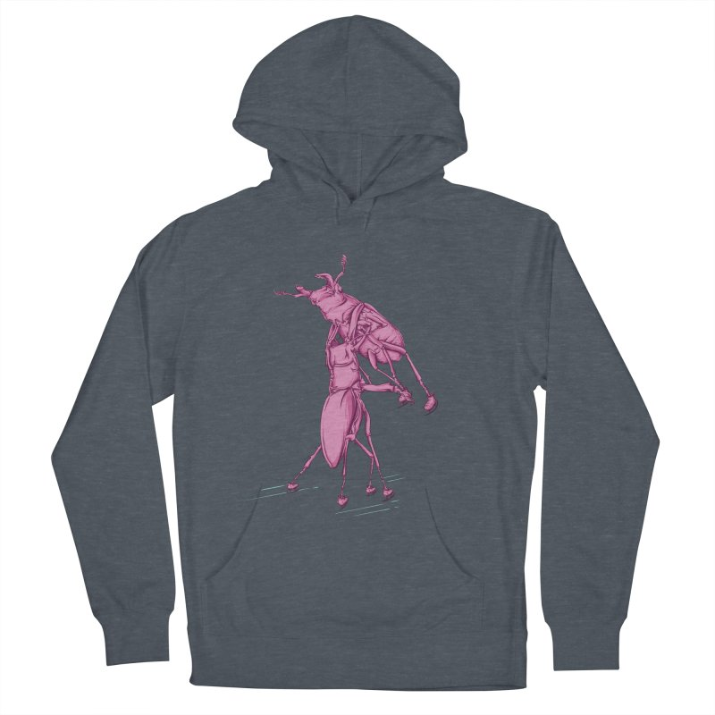 Stag Beetle Ice Skating Men's Pullover Hoody by FOURHWAY's Shop