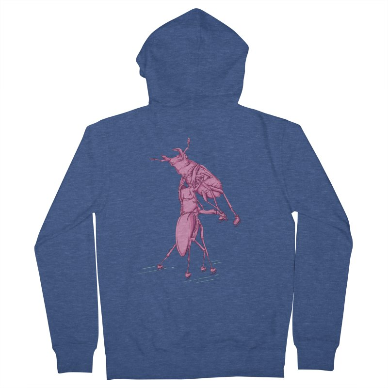 Stag Beetle Ice Skating Women's Zip-Up Hoody by FOURHWAY's Shop