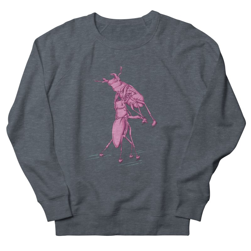 Stag Beetle Ice Skating Women's French Terry Sweatshirt by FOURHWAY's Shop