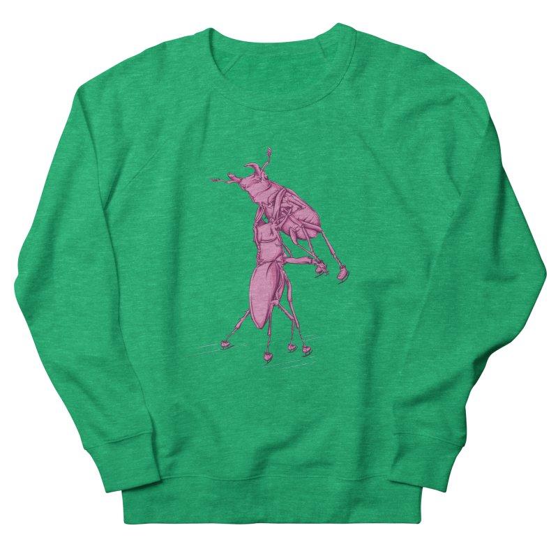 Stag Beetle Ice Skating Men's Sweatshirt by FOURHWAY's Shop