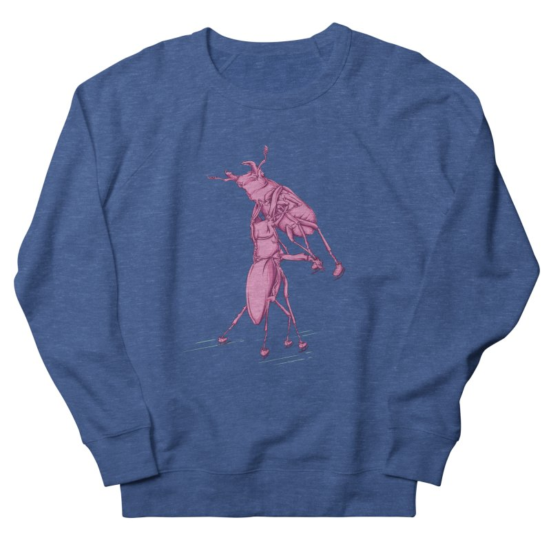 Stag Beetle Ice Skating Men's French Terry Sweatshirt by FOURHWAY's Shop