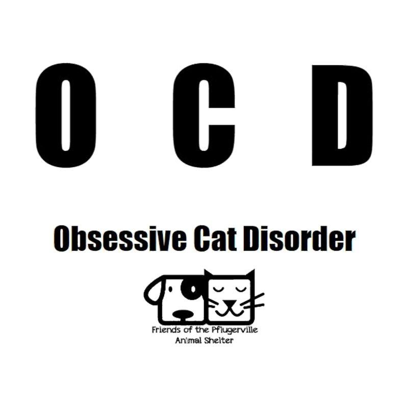Obsessive Cat Disorder Men's T-Shirt by FPAS's Artist Shop